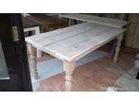 HAND MADE DINING/COFFEE TABLES,BEDS,TV UNIT,DRESSERS,SIDEBOARDS,GARDEN&PATIO BENCHES FROM £49 LOOK