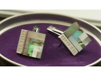 Ted Baker cufflinks UNUSED in orig. tin - suitable as gift