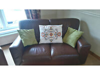 Sofas, 3 seater, 2 seater and armchair