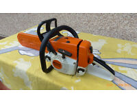 sthil chain saw ms 240