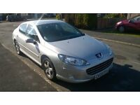PEUGEOT 407 IN SILVER 2009 REG (09) DIESEL 84,500 MILES 11 MONTHS MOT TIMING BELT/SERVICE JUST DONE