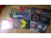 VINYL COLLECTION 1300 LPS INC STONE ROSES PISTOLS HENDRIX NUMAN KRAFTWERK ETC