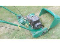 Qualcast Classic 35s Petrol Stripes Lawnmower