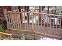 Timber wooden access ramp - for patio or caravan