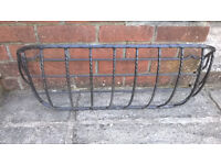 """Wall mounted troughs (plant holders) - 30"""""""