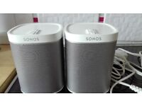 2 Snonos Play 1 Speakers Used ONLY twice