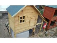 large house rabbit hutch