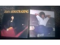 2 joan armatrading albums on vinyl in good condition. greatest hits and to the limit