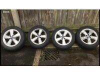 Set of 4 Ford Alloys 5 stud with good tred