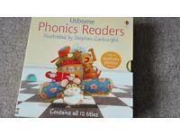 12 Usborne Phonic Reading Books