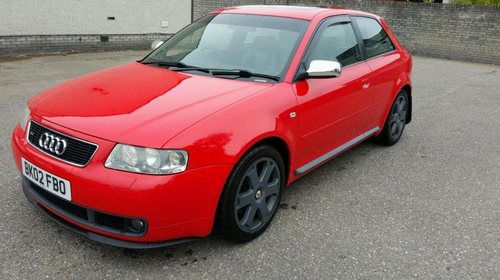 audi s3 265bhp 2002 in nairn highland gumtree. Black Bedroom Furniture Sets. Home Design Ideas