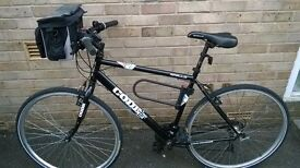 "APOLLO CODE Hybrid bicycle. 18 gears, 21"" Frame, 24"" Wheels. Speedo, Mileometer, Computer"