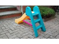 Little Tikes toddler garden/indoor slide, safe, plastic, sturdy, good used condition. Traditional