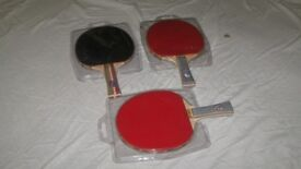 Table Tennis Raquets and Dart Boards