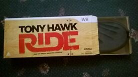 Tony Hawk Ride WII