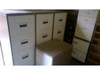 Office filing cabinets 2 and 4 drawer