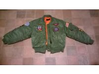 childs flying jacket