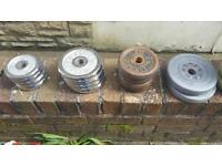 Job lot of weights £50