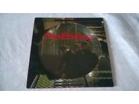 "The Enemy Had Enough 7"" Single Picture DISC -can post for extra-"