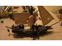 MEGA BLOKS PYRATES CAPTAIN CUTLASS STORMSTALKER SHIP 3620