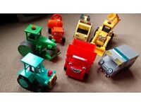 Bob the Builder - collection of toys