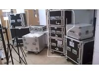 4 DJ TRAVEL/FLIGHT CASES
