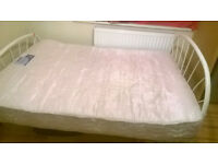 Queen size - Iron Cot and Mattress