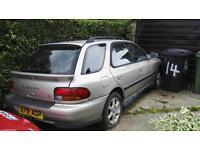 Subaru impreza wagon breaking