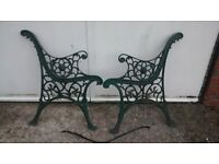 Cast Bench ends