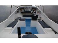 Morebas 17ft Fishing Boat\Cruiser + Trailer + Outboard Engine