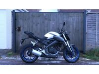 Yamaha MT-125 ABS only 5927 miles! One Owner, Full Service History