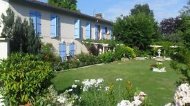 FRANCE-Very nice property with potential to be run as a B&B, situated between a river and a canal.