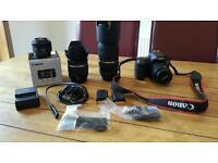 Canon eos 60d plus accessories