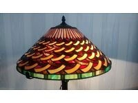 A Lovely Large Tiffany Table Lamp