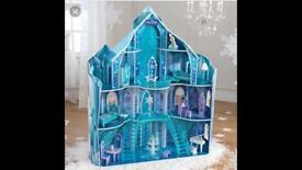 Large Wooden Frozen Castle