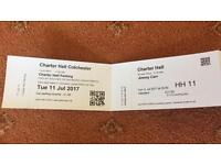 2 x Jimmy Carr tickets 11th July in Colchester 8pm