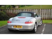Porsche boxer 986