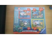 Ravensburger Octonauts 4 in a Box Jigsaws NEW IN BOX *MAKE ME AN OFFER*