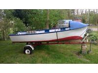 """12'6"""" Fishing boat"""