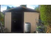 Brick effect concrete garage panels - free to good home