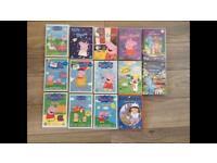 DVDS. Peppa pig. Little Princess. Night garden