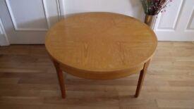 Vintage Stonehill Furniture – 'Stateroom' Teak circular coffee table