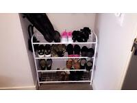 Shoe rack £15 or best offer