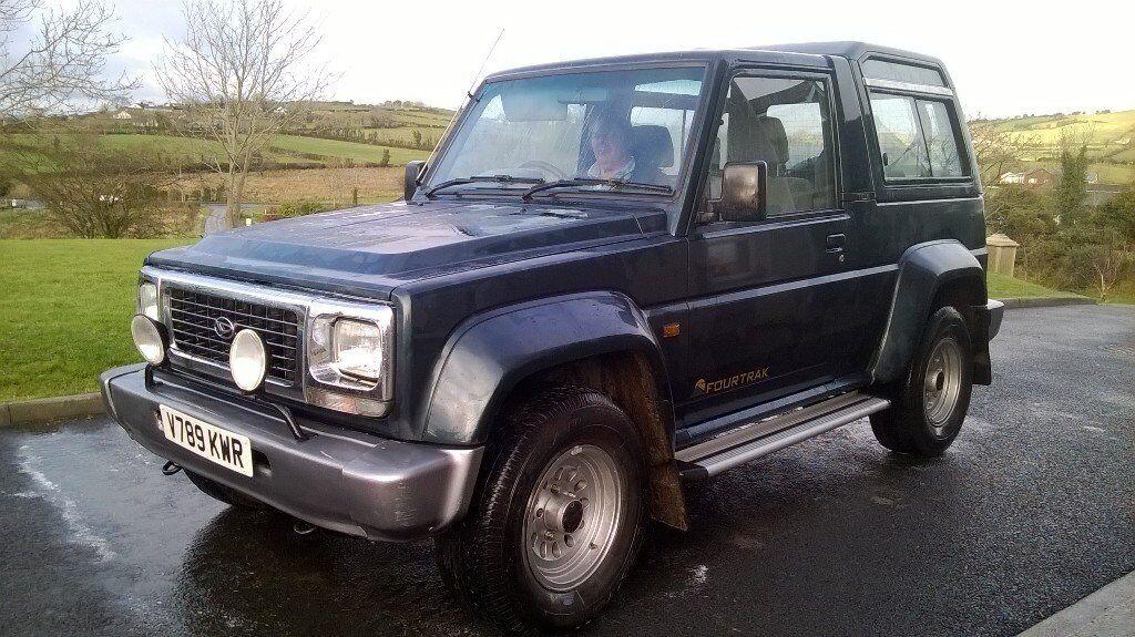 daihatsu jeep in newry county down gumtree. Black Bedroom Furniture Sets. Home Design Ideas