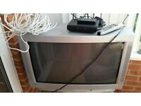 Telly 37' large back free view box and long ariel