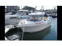 Arvor 190 Fishing Boat and SBS Trailer for sale