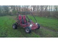 2008 250cc buggy swaps for 4x4
