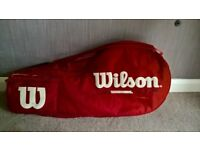 Wilson Tennis Racket Bag - Red (Loughborough, Leics)