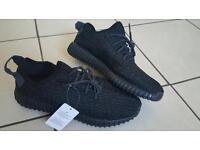 Men's Adidas Yeezy Boost 350 Pirate Black UK Size 9.5