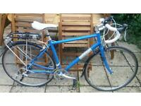 Pinnacle Ladies blue road bike 21""